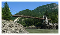 Fraser Canyon - Alexandra Suspension Bridge